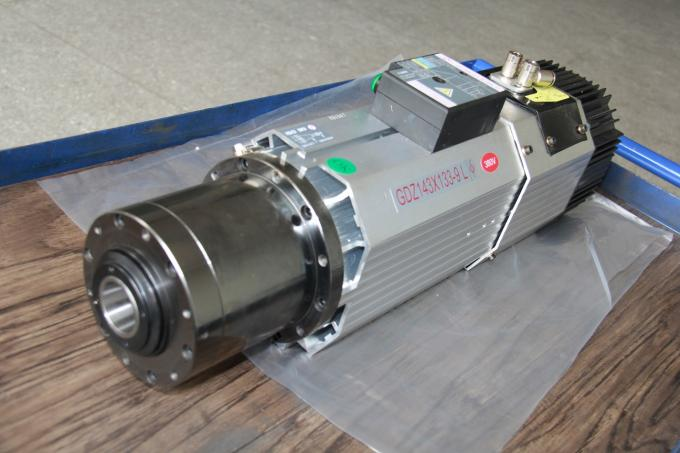 9KW ISO30 Automatic CNC Spindle Motor 220V / 380V Voltage 32A Current