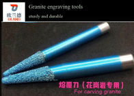 Blue Appearance Granite Engraving Tools Router Bits Cutters High Strength