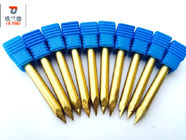 China High Hardness Carbide Router Bits Precise Engraving ISO9001 Approved company