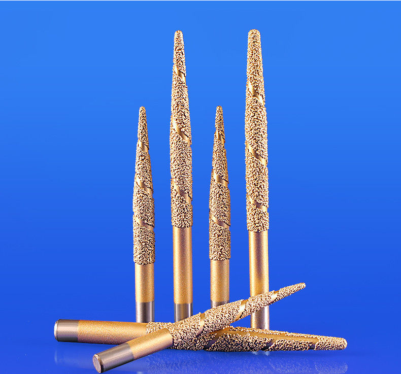 Conical Granite Engraving Tools High Temp Resistance For Sculpture And Stone