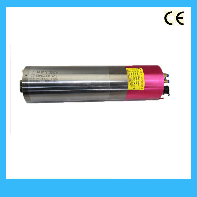 26kg Weight Water Cooled Spindle , High Speed Spindle Motors 120TD18Z5.5A ATC