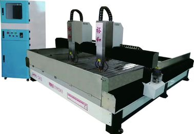 China High Accuracy Stone Engraving Equipment , 3D Stone Carving Machine With Offline Controller factory