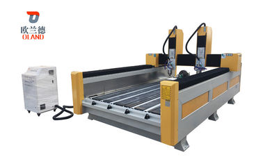 Column Carving CNC Stone Engraving Machine Ncsutido / Shanlong Control System