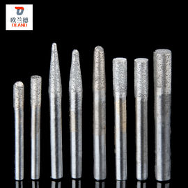 Ball Nose Type Sintered Diamond Tools , Diamond Carving Burrs High Hardness