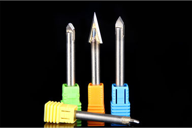 China Highly Sharp Carbide Alloy Engraving Bit , CNC Engraving Bits ISO Compliant factory