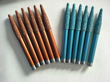 China Vacuum Brazed Sculpture Carving Tools For Bluestone With Plastic Box Package factory